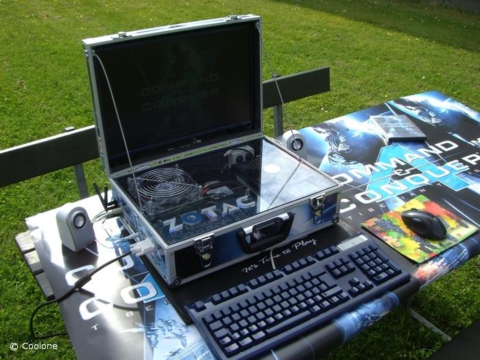Компьютер в чемодане